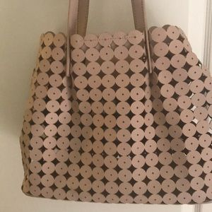 Moda  Luxe handbag with removable clutch. NWOT.